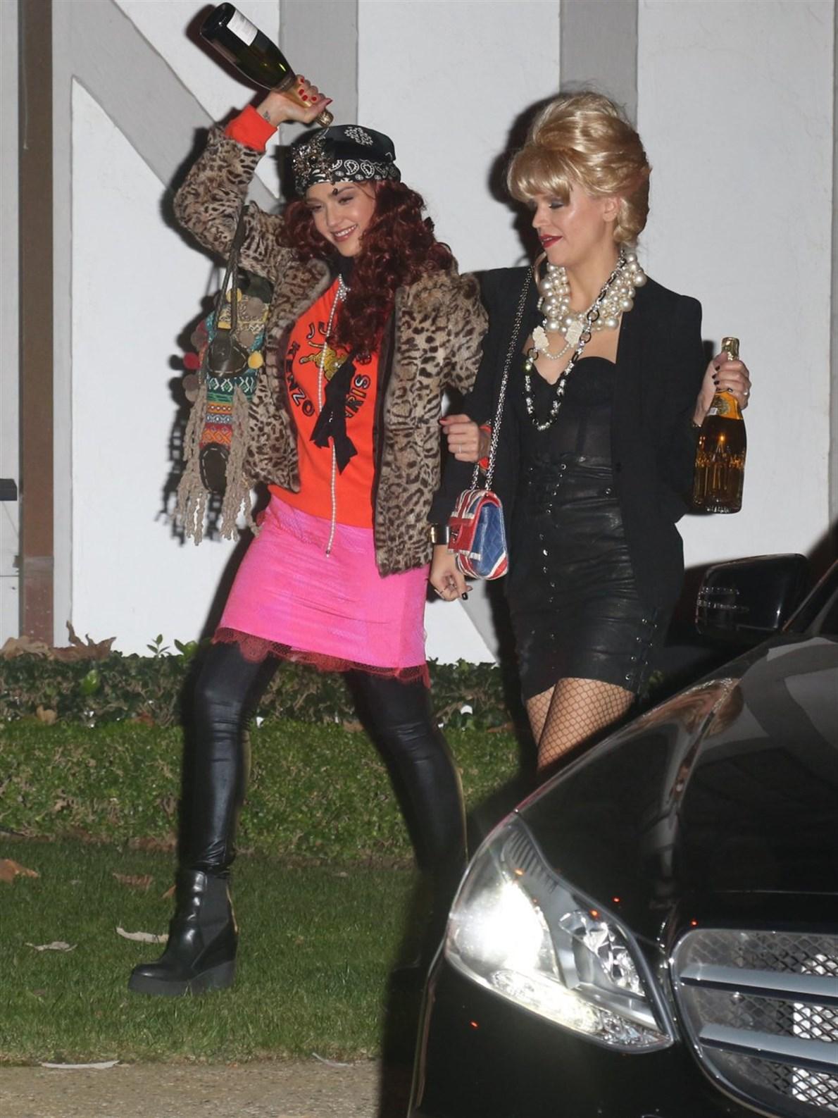 Jessica Alba, también se sumó a la fiesta.