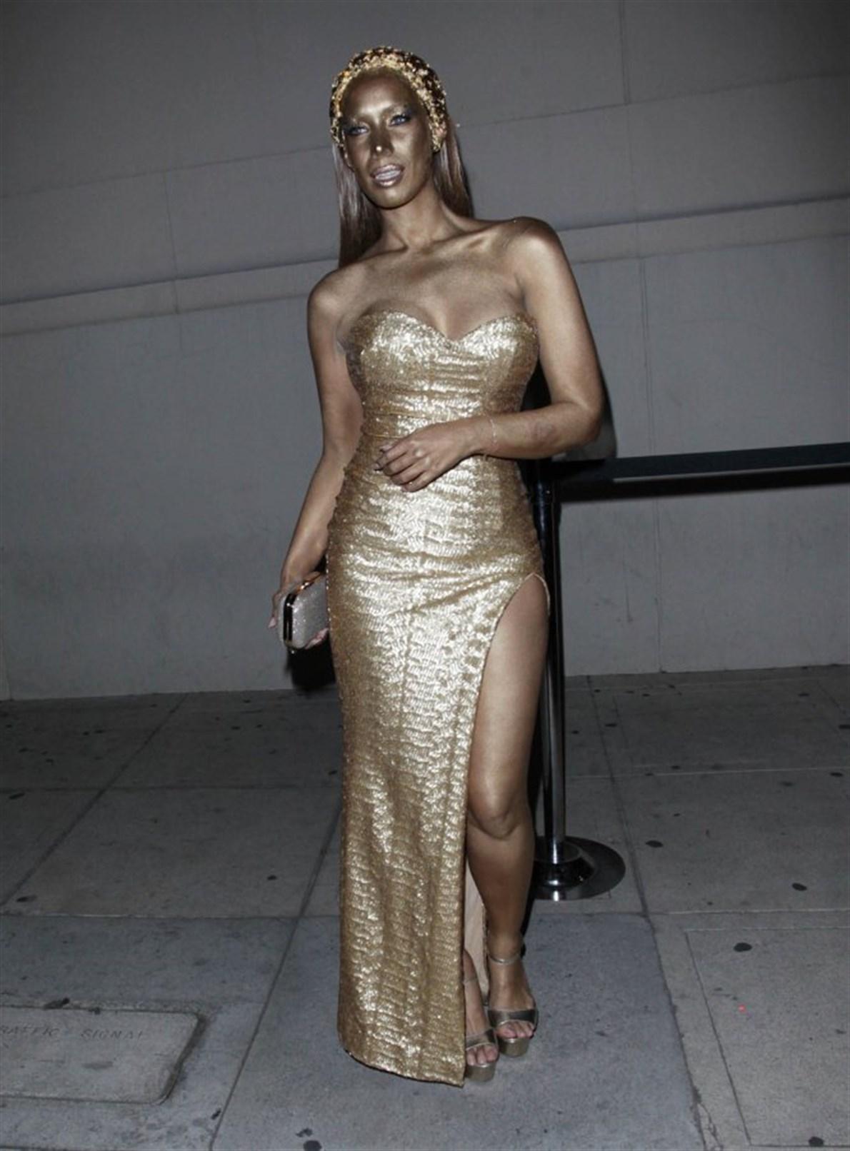La cantante Leona Lewis.
