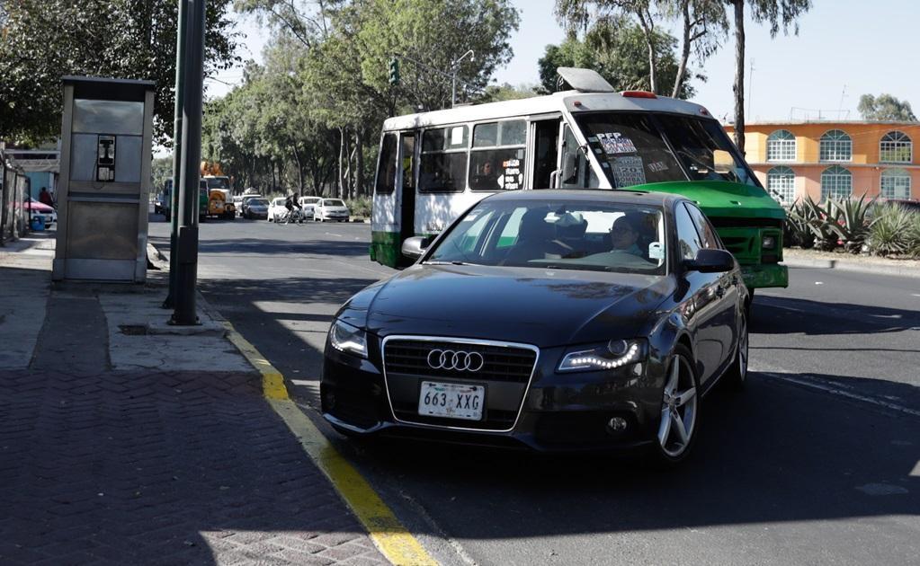 Vehículos de lujo de la marca Audi también desfilan en el Tribunal Electoral del Poder Judicial de la Federación.
