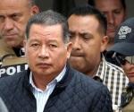 Trasladan a Ríos a hospital por presión alta