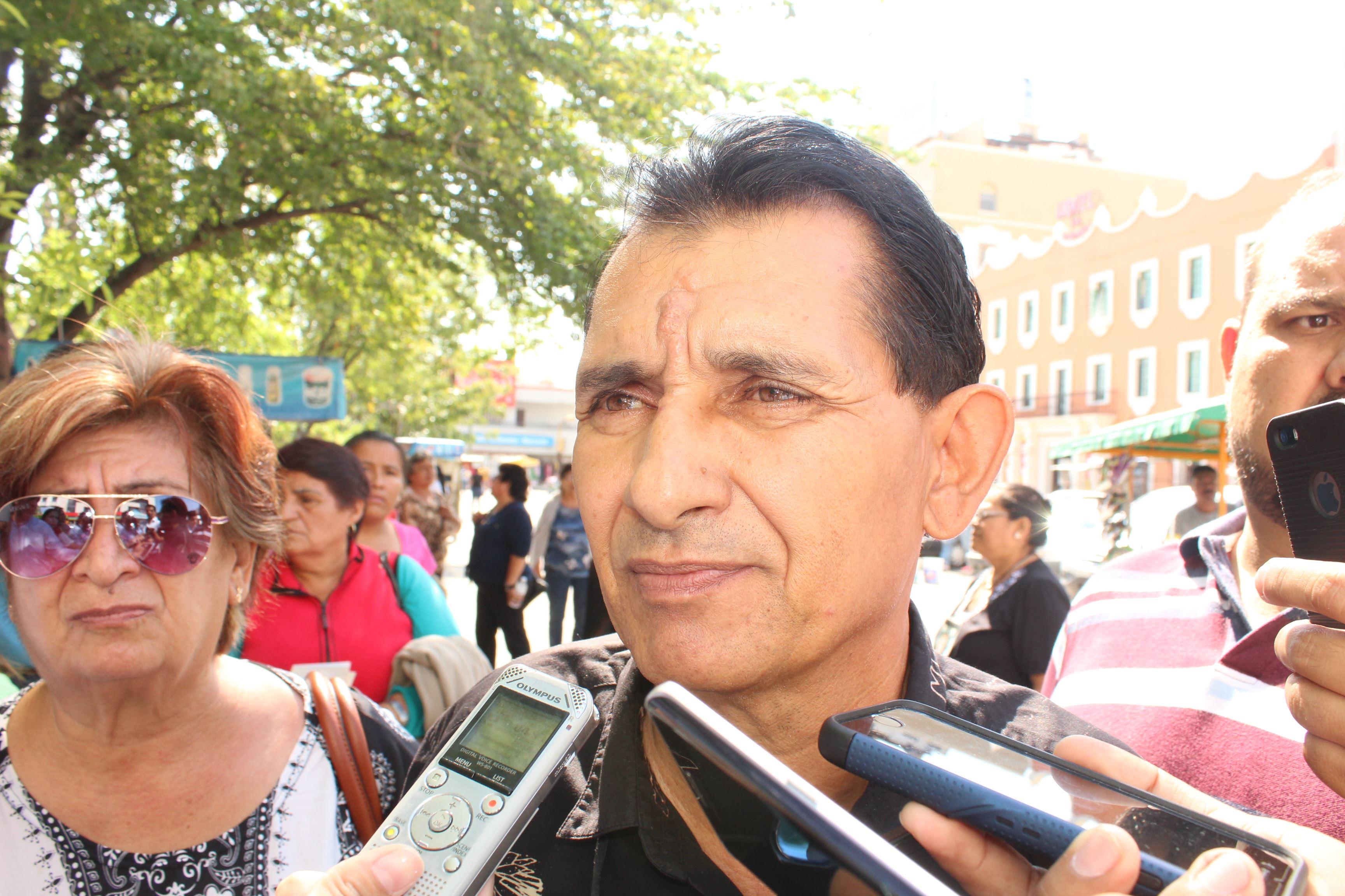 Guillermo Gutiérrez Riestra, vocero del Colectivo de Amigos y Familiares de Desaparecidos de Tamaulipas
