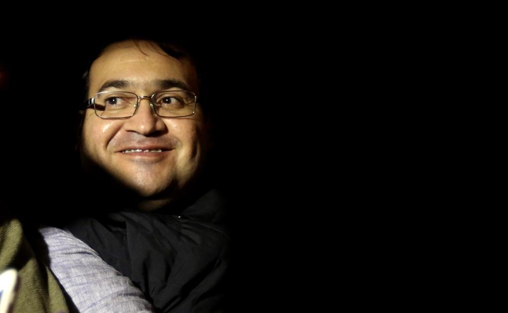 Luego de la captura de Javier Duarte, ex gobernador de Veracruz, en Guatemala. Lo que más llamó la atención de todos los mexicanos fue esa sonrisa burlona y cínica del ex mandatario. Foto: EFE