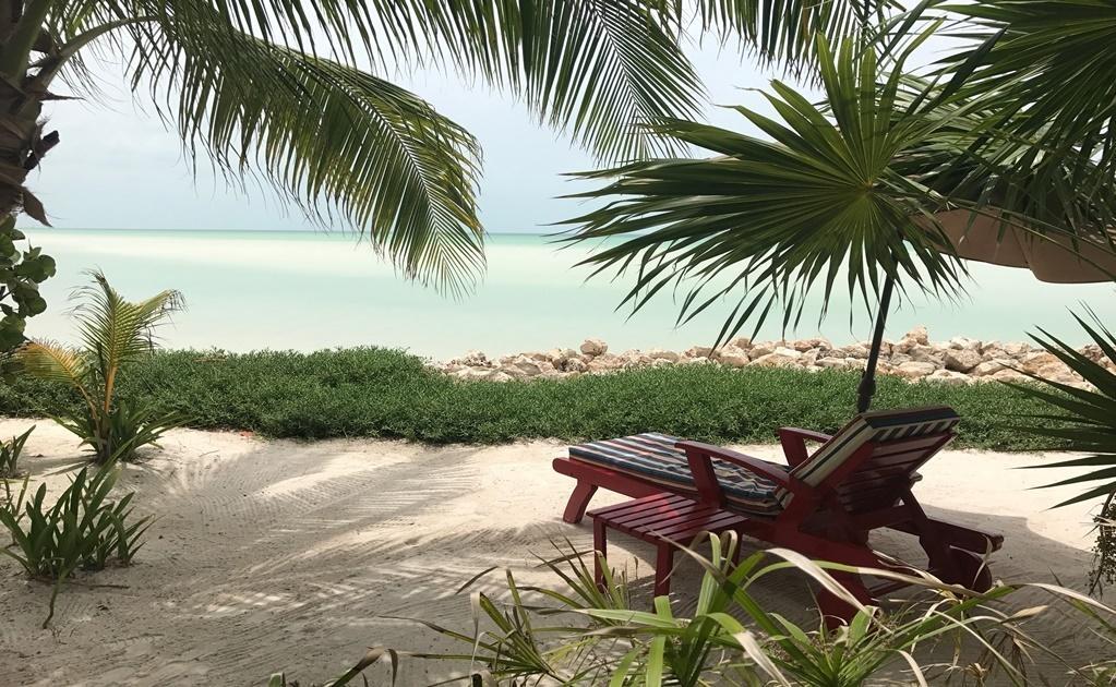 Tú eliges: entrar al mar o recostarse a leer un libro, divagar mirando al mar o desconectarte del mundo mientras bebes una margarita de tamarindo o una cerveza helada acompañada de un ceviche verde especialidad de la casa.Cortesía del Hotel Las Nubes de