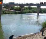Reportan ahogado debajo del puente internacional