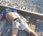 Se lo carga el tren para la otra vida en Los Cavazos
