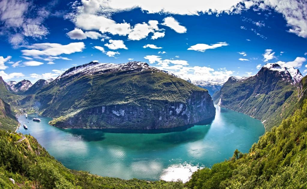 El fiordo de Geiranger es uno de los más espectaculares en Noruega. (Foto: Istock)