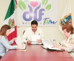 Firman Dif y Tec Reynosa convenio