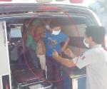 Trasladan a Reynosa a niño enfermo de dengue