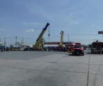 Retiran pipa volcada en Reynosa 18 horas después