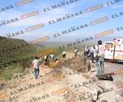 Dos muertos y un lesionado en la carretera Rumbo Nuevo