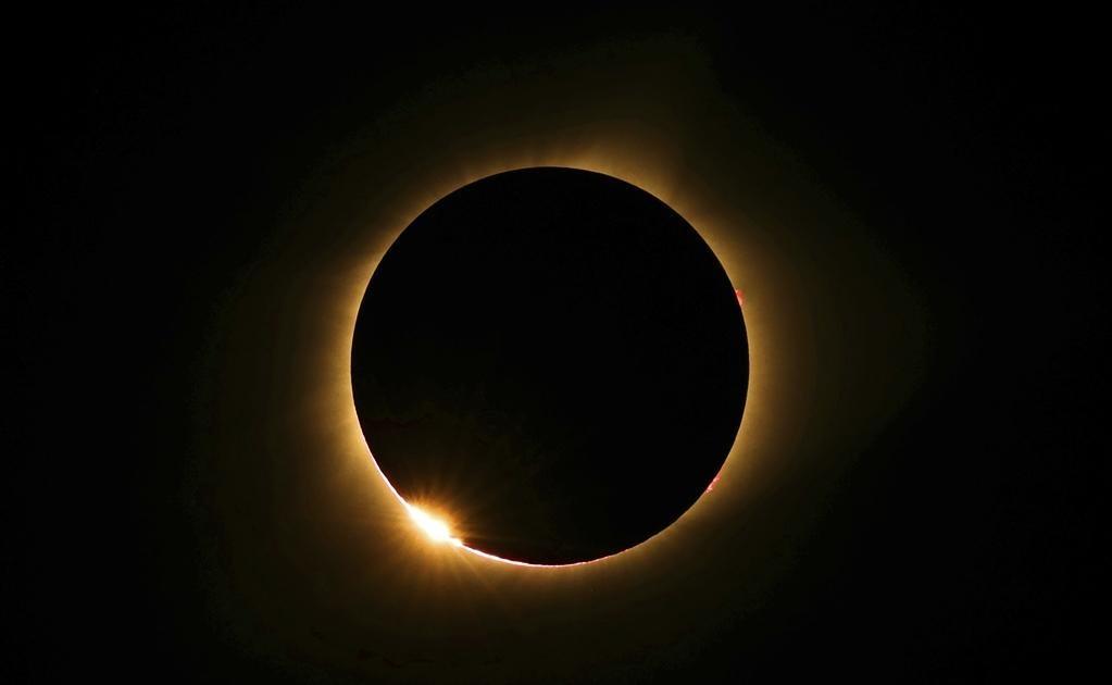 El eclipse solar se vio en América, pero fue total en Estados Unidos. Foto: AP