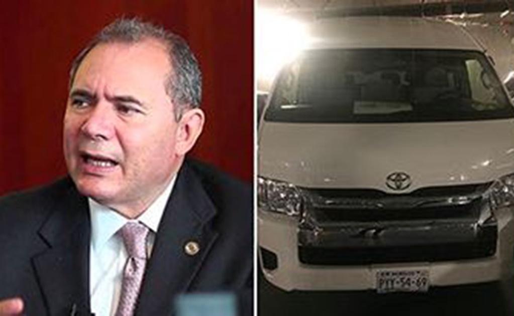 En visita al estacionamiento del Senado de la República el pasado 14 de junio, se pudo observar que las y los senadores también han recurrido a las placas morelenses.