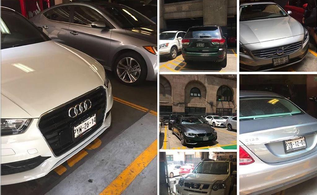 En el estacionamiento de la Suprema Corte de Justicia de la Nación se puede observar, en los lugares reservados para los ministros y sus colaboradores más cercanos, automóviles y camionetas de lujo con placas de Morelos.