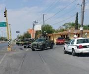 Persecución y balacera culmina con accidente vial en el Blvd. Miguel Alemán