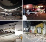 Confirma Presidente Peña Nieto 5 muertos tras sismo de 8.2 grados
