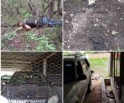 Desmantelan campamento del CO; mueren 5 civiles armados