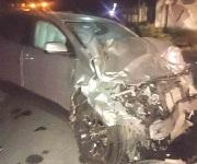 Muere mujer en accidente; esposo grave