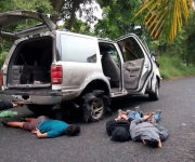 Investigan ataque a falsos policías en el norte de Veracruz
