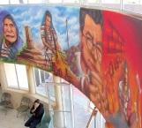 Desaparecieron murales de proyecto cultural
