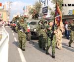 Encabeza Ejército Mexicano desfile militar por Independencia