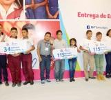 Dan estímulos escolares a niños, niñas y adolescentes en riesgo de trabajo infantil