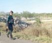 Deja volcadura 4 policías heridos