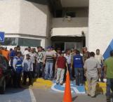 Realizan paro sindicalizados de COMAPA