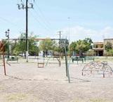 Abandonada la plaza de la Aquiles Serdán