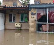 Tormenta causa destrucción en la zona sur de Tamaulipas