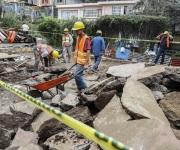 Inicia reconstrucción en Álvaro Obregón tras sismo