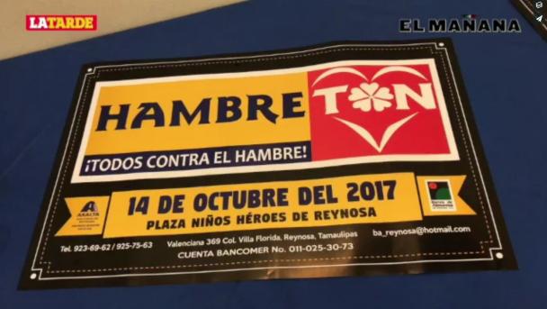 Prevén menor participación en Hambretón 2017