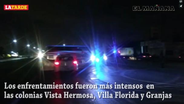 Sitian a Reynosa balaceras y bloqueos