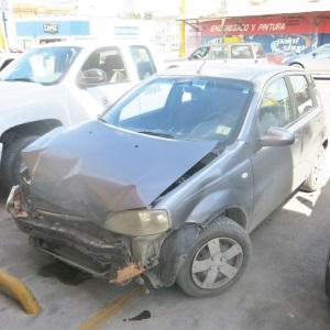 Cuantiosos daños en accidente