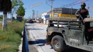 Balaceras y persecuciones en Reynosa dejan a militar herido