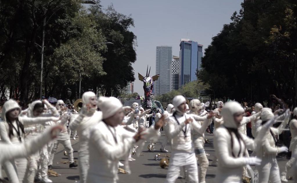 Miles de personas se dieron cita desde la Plaza de la Constitución, las avenidas 5 de Mayo y Juárez, así como Paseo de la Reforma.