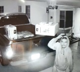 Videograban a ladrón en plena acción