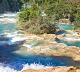 Cascadas de Agua Azul recuperan el 100% de su flujo