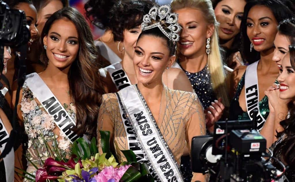 Desde 1978, Sudáfrica no obtenía el título de Miss Universo. FOTO: AFP
