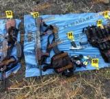 Abaten a siete sicarios en narcocampamento en El Mante