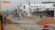 Continúan trabajos en la Calle del Taco
