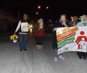 Participan católicos en peregrinaciones en honor de la Virgen de Guadalupe