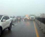 Neblina colapsa rutas a Saltillo con choques múltiples y cierre