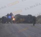Vuelca patrulla de Sedena; varios militares lesionados