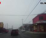 Cubre a Reynosa densa neblina