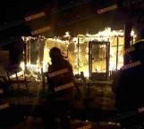 Se incendia vivienda en la colonia Almaguer