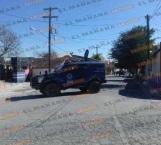 Bajo 'sitio' de Fuerza Tamaulipas calle de la colonia Anzaldúas