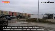 Balacera en Las Flores: tres pistoleros muertos