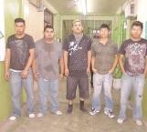 Dictan 350 años de prisión para 5 sujetos