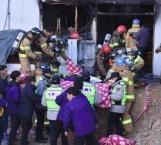 Suman 41 muertos tras incendio en hospital surcoreano
