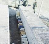 Decomisan en Matamoros 25 yogas con combustible robado